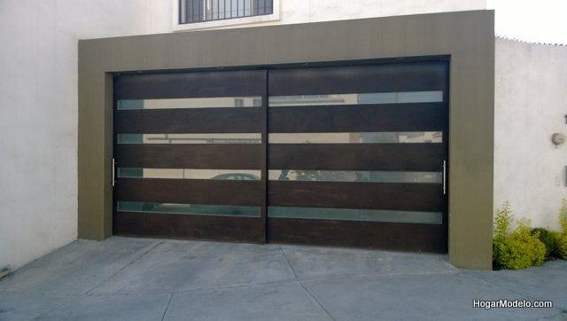 Best 25 porton garage ideas on pinterest portones de - Puerta de garage ...