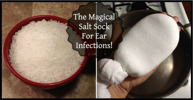 The Magical Salt Sock For Ear Infections! - http://nifyhealth.com/the-magical-salt-sock-for-ear-infections/