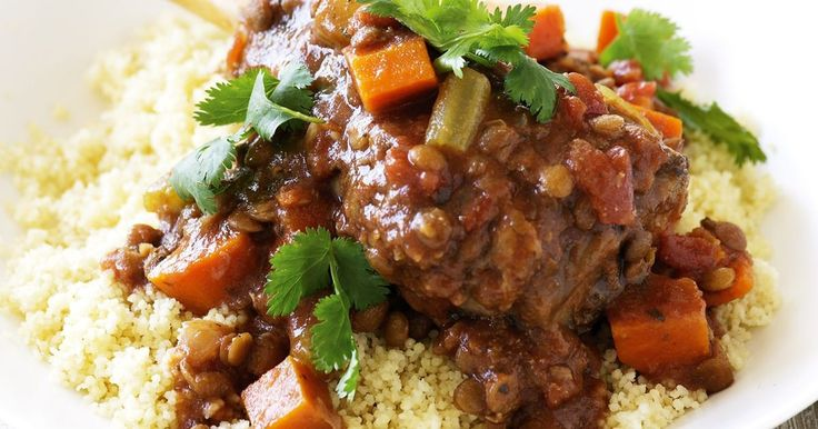 Save precious time with this lamb and lentil slow-cooker recipe that's wholesome and delicious.