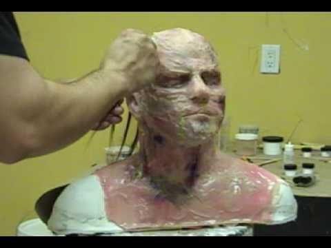 Here's a simple method for making your own silicone masks over a plaster lifecast or generic head form. Gel-10 has incredible stretch so a generic mask may f...