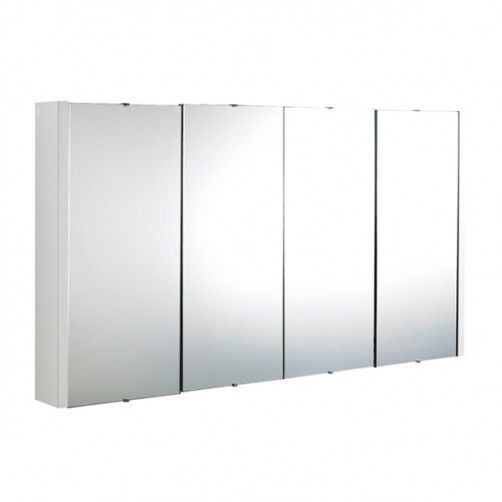 Premier Design 4 Door Mirror Cabinet 1200mm