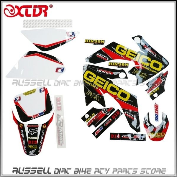 FOR HONDA CRF 150R 2007-2017 FRAME PROTECTION GRAPHICS STICKERS MOTOCROSS DECALS