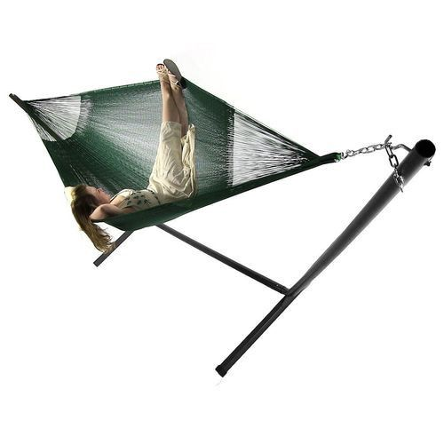 Family Mayan Hammock and Stand Combo - Green