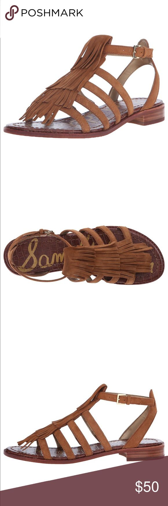 Sam Edelman Fringe Sandals NWT and boxed. Beautiful and fun summer staple. True 7 1/2. Just in this season! Get them before they are gone! Won't find them cheaper anywhere else! Price Firm. Sam Edelman Shoes Sandals