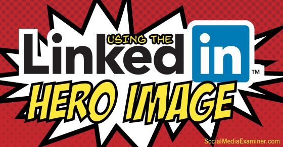 How to Use the New LinkedIn Header Image for Profiles   LinkedIn's new header image allows you to increase your branding and visibility, showcase who you are and attract new followers and connections. They are a lot like the banners you have on Twitter, YouTube, Google+ and Facebook.   #linkedin #profile