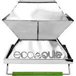 "EcoQue Stainless Steel 12"" Portable Grill - Mountain Equipment Co-op $99"