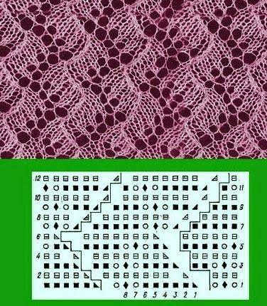 Kira knitting: Knitted pattern no. 7