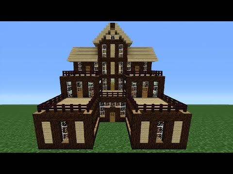 Cool Minecraft Houses Awesome The Best Minecraft Wooden House - Cool minecraft houses survival