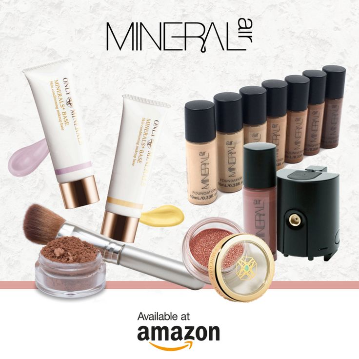 Amazon Prime Day may be over, but there's still time to get great deals on Mineral Air & Only Minerals mineral makeup products! Shop Amazon all WEEK for 20% off most items - head to http://amzn.to/2ui7C8H to find a little something for yourself!