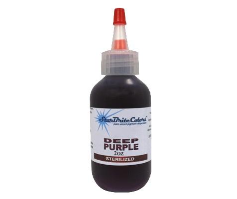 Starbrite Tattoo Ink - Deep Purple 1 Oz - TAT2 Supplies.