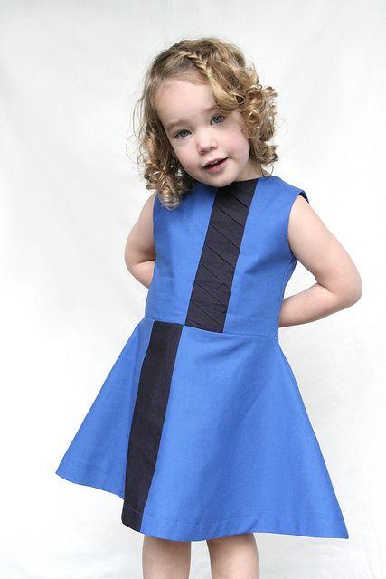 Stoffigami-jurk by Leven met Liv, via Flickr