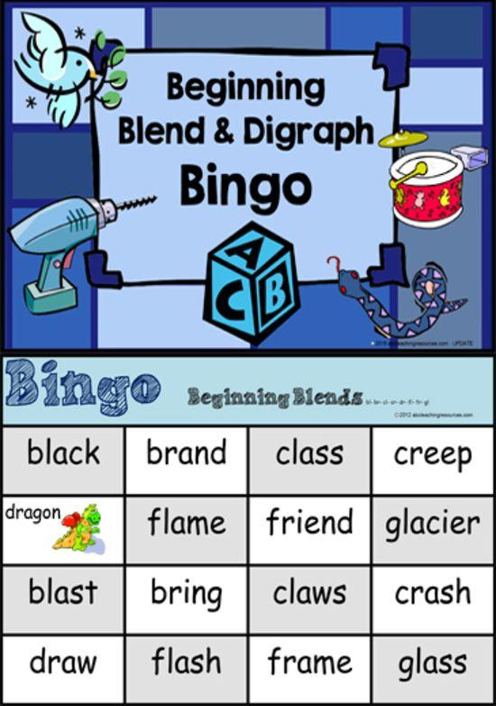 Beginning Blend | Bingo Game
