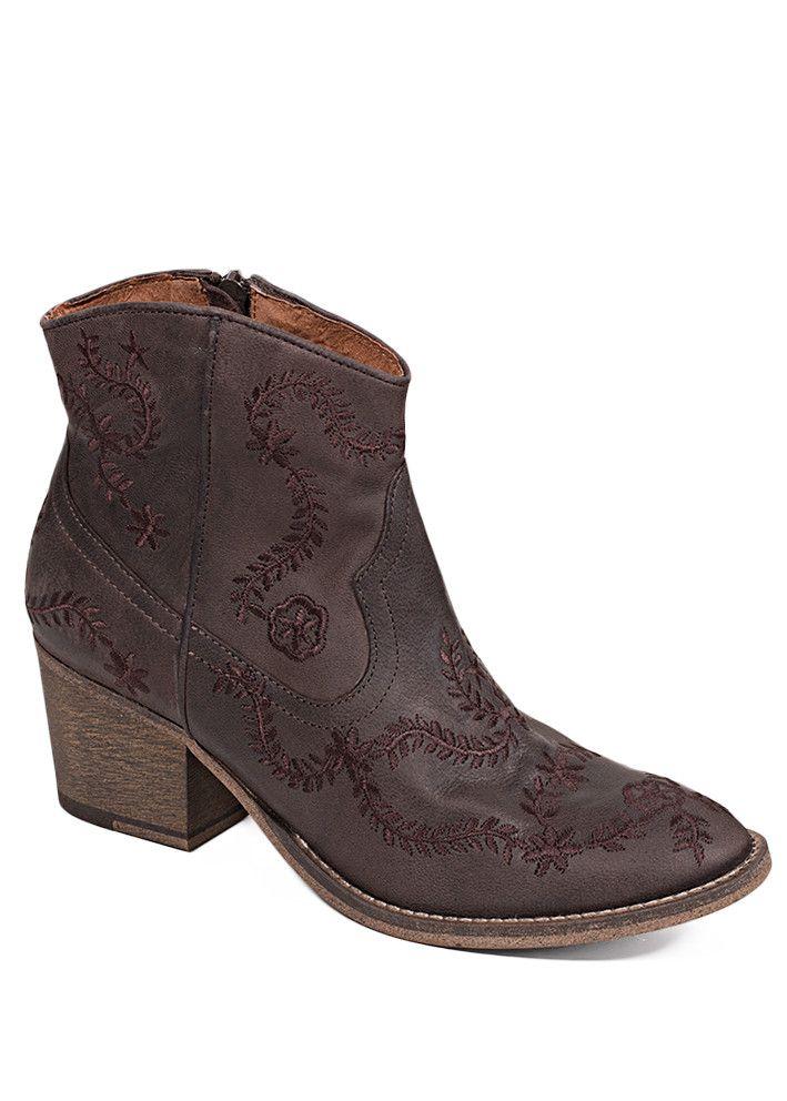 Cream Støvler brune 10400365 Bea Cowboy Boot - dark brown – Acorns