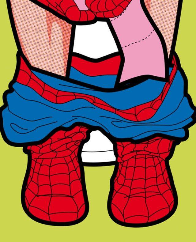 La vita segreta dei supereroi