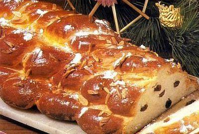 Vánočka - Czech Christmas bread