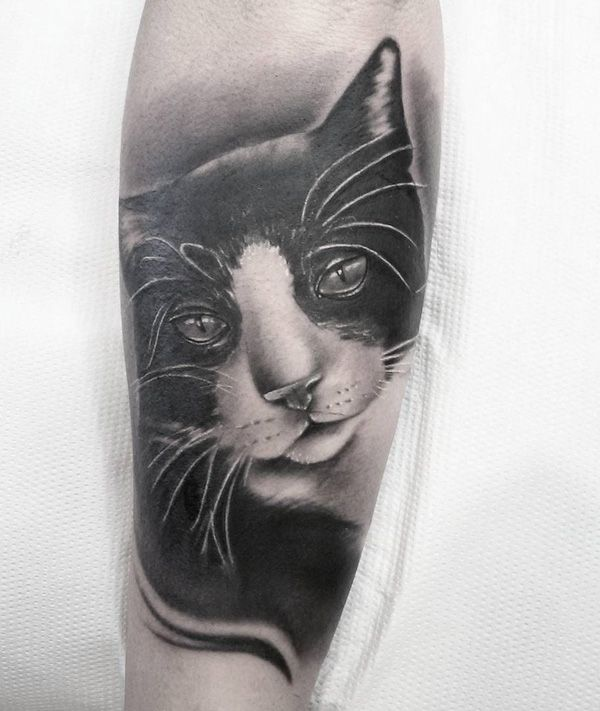 a2ccaeb66 100+ Examples of Cute Cat Tattoo | Beautiful tattoos | Cute cat ...