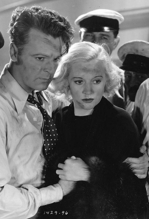 Neil Hamilton and Shirley Grey encounter Terror Aboard, which opened in theaters on April 14, 1933
