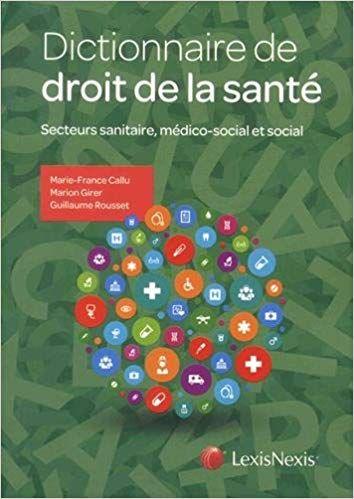 Dictionnaire De Droit De La Sante Secteurs Sanitaire Medico Social Et Social Ebook Telecharger Gra Incoming Call Screenshot Books