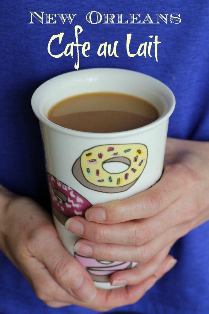 How to Make Cafe au Lait Like Cafe du Monde in New Orleans