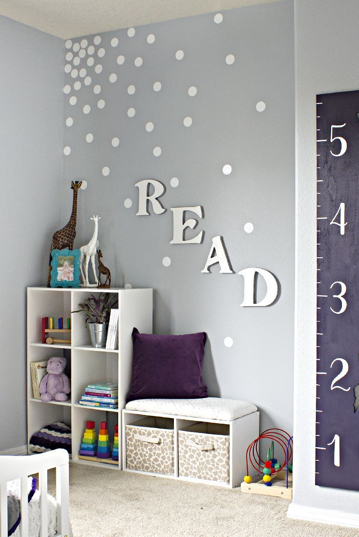 How to create an easy feature wall without paint top - Bedroom wall decor ideas pinterest ...