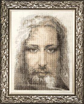 Набор для вышивки крестиком М-202 Священная реликвия христиан Туринская плащаница правдивый образ Господа Нашего Иисуса Христа. Каталог товаров. Наборы