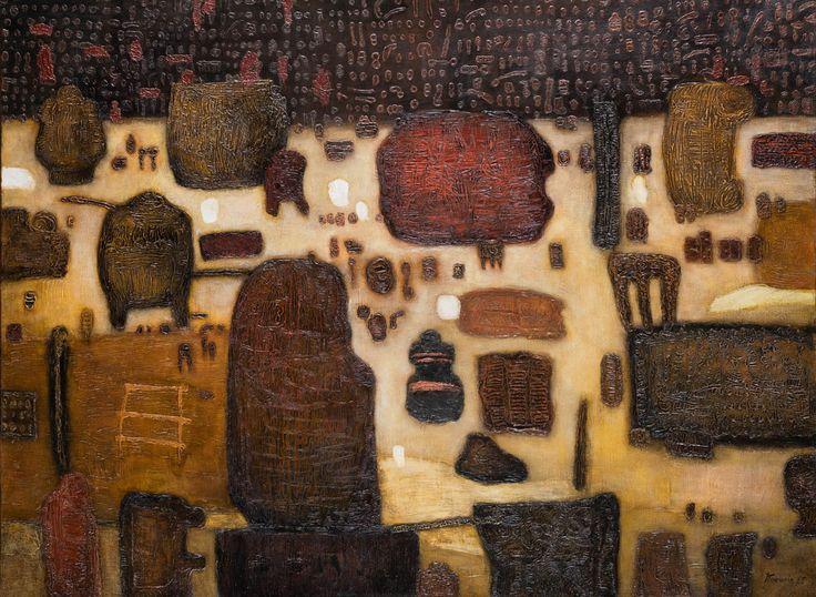 JAN TARASIN (1926 - 2009)  ANTYKWARIAT, 1965   olej, płótno / 90 x 120 cm  sygn. i dat. p.d.: JTarasin 65