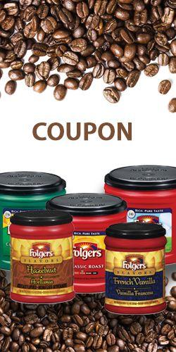 Coupons pour les cafés Folgers.  http://rienquedugratuit.ca/coupons/coupons-pour-les-cafes-folgers/