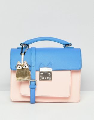 Paul Joe Sister Colour Contrast Cross Body Bag