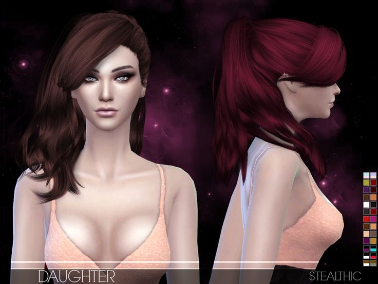 50 best images about Sims 4 Hairstyles on Pinterest   Mesh