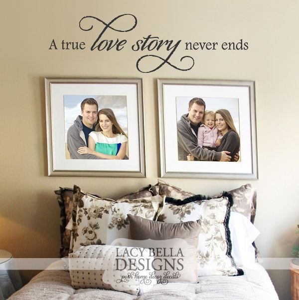 A True Love Story Never Ends Quote: 46 Best Wall Decals/Quotes Images On Pinterest