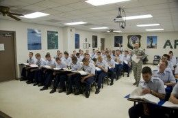 THE GIRLS GUIDE TO AIR FORCE BASIC TRAINING: 4 ways to stay awake during training class