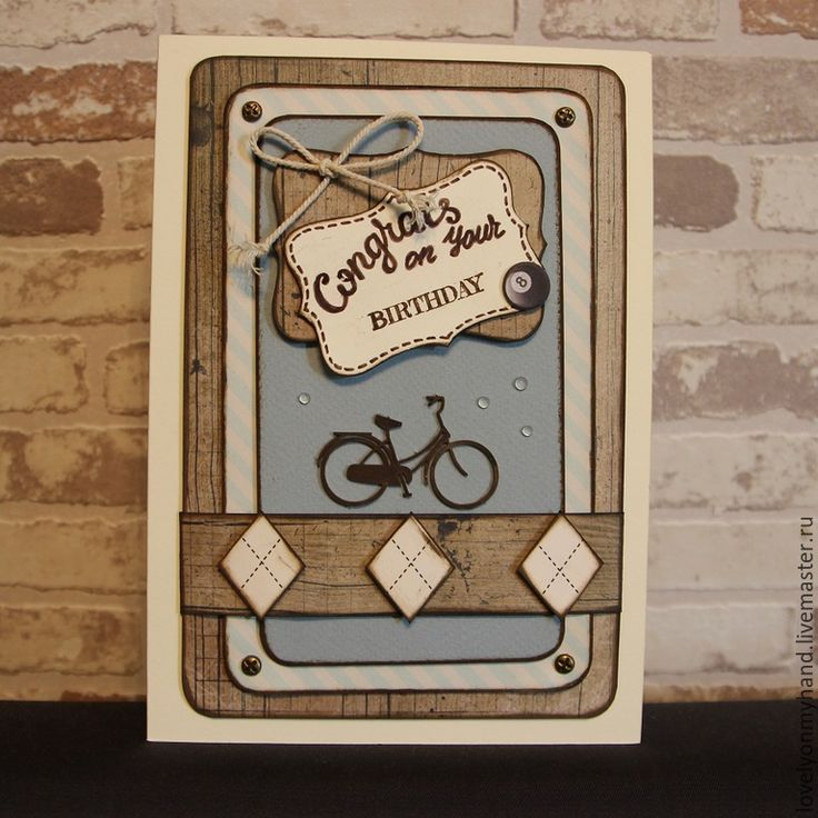 greeting card for real man lovely on my hand pinterest scrap cards and craft. Black Bedroom Furniture Sets. Home Design Ideas