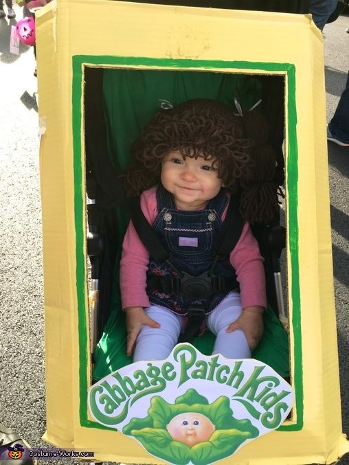 cabbage patch kid costume baby halloween - Cabbage Patch Halloween Costume For Baby