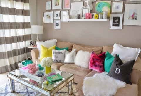 IDEAS For Small Living Spaces | Making Home Base