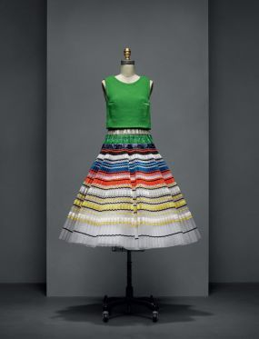 Dior haute couture, spring/summer 2015.