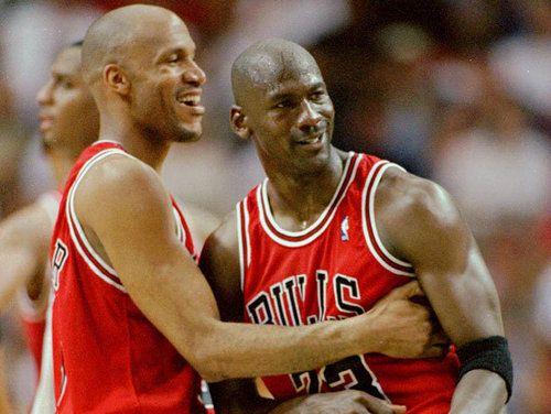 #Michael Jordan #RonHarper