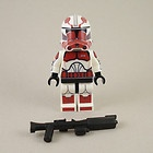 Lego Star Wars Captain Fox Clone Trooper Phase 2 Armor Mini Figure Battle Pack | eBay