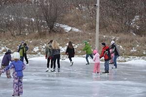 Oakville - Bronte Creek Provincial Park's Ice Rink!