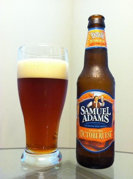 BrewChief.com Review of Samuel Adams Octoberfest (Boston Beer Co.) : Oktoberfest is in full swing and beer fans across the world are clamoring for that delectable amber lager. Here in the United States, we are sadly disconnected from all of those savory German versions, lest we pay a premium at our local beer stores. But all is well because there are plenty of American breweries that have taken up the cause. Our steins overfloweth and our parties thumpeth thanks to breweries like the…