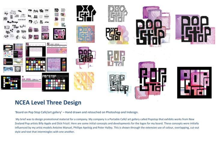 NCEA Level Three Design, board 1 Erika Avery