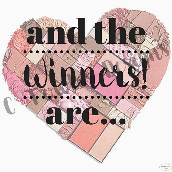 Mary Kay And The Winner's Are.. Digital Download by CTowlesDesigns