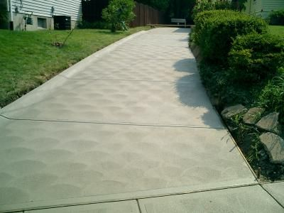 cement patio finishes traditional concrete with swirl mag finish home yard pinterest. Black Bedroom Furniture Sets. Home Design Ideas