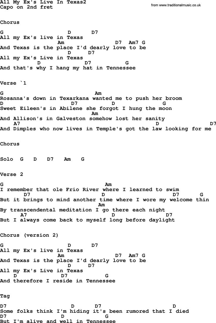 Country Music Lyrics Volume 1 with Chords - Foundation