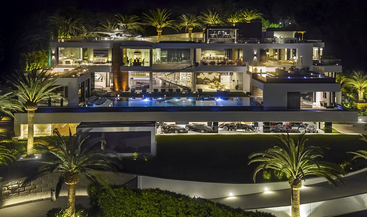 The Most Expensive House in the United States $250 Million by Bruce Makowsky: 924 Bel Air Road