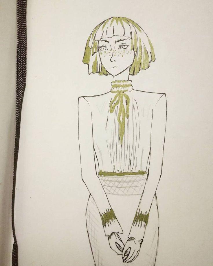 """D.Art (@d.art._) 💕💕💕 #sketch #sketchbook #instart #iloveart #artismypassion #artoftheday #woman #blackandgold…"""""""