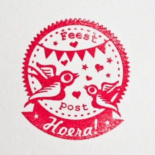 Miss Honeybird stempel feest | PSikhouvanjou
