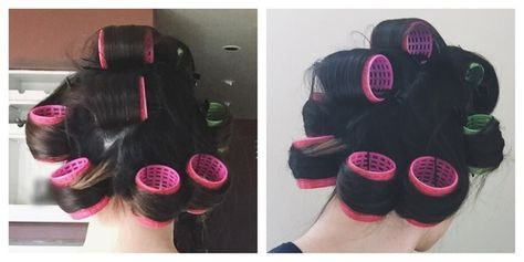 How To Use Velcro Hair Rollers — Because These Old School Gems Should Be Your New BFF