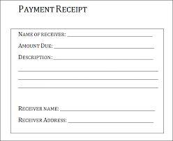 Payment Receipt Template,free receipt template