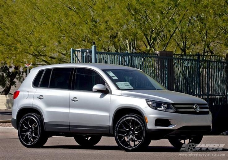 """2013 Volkswagen Tiguan with 20"""" Gianelle Wheels by Wheel Specialists, Inc. in Tempe AZ . Click to view more photos and mod info."""
