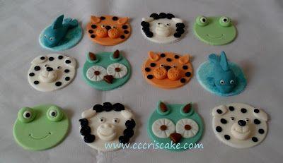 Torturi artistice: Funny for cupcakes